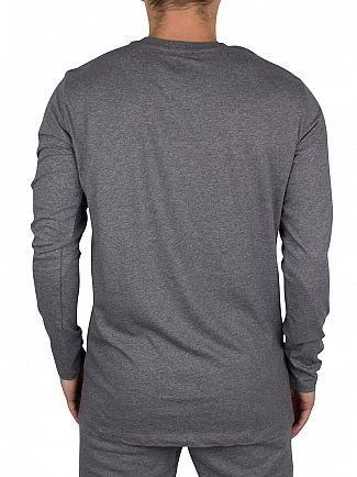 Diesel Grey Marl UMLT Longsleeved Justin T-Shirt