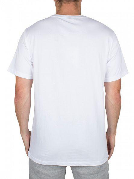 Ellesse Optic White Fissore Vertical Graphic T-Shirt