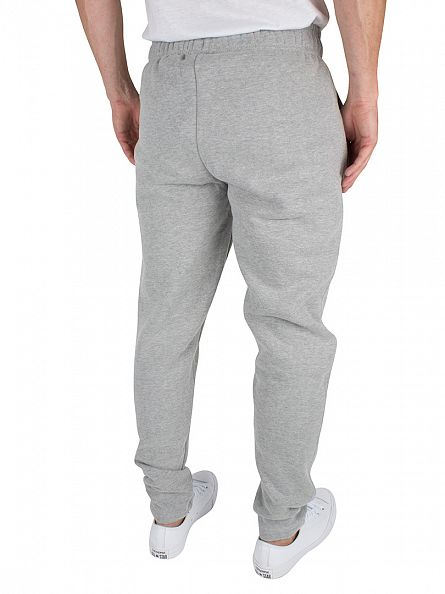 Ellesse Athletic Grey Marl Maggiora Fleece Logo Joggers