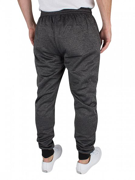 Ellesse Heather Charcoal Marl Piccolo Poly Logo Joggers