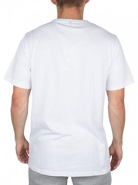 Ellesse Optic White Quattro Venti Logo T-Shirt