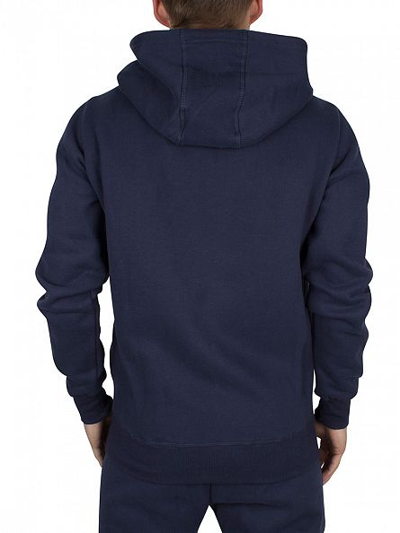 Ellesse Dress Blues Ravenna Vertical Graphic Zip Hoodie