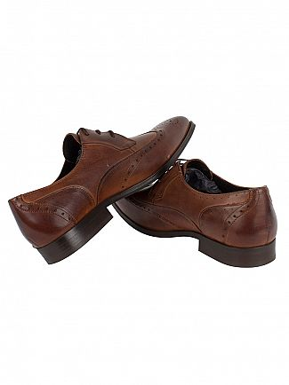 H by Hudson Tan Jay Calf Shoes