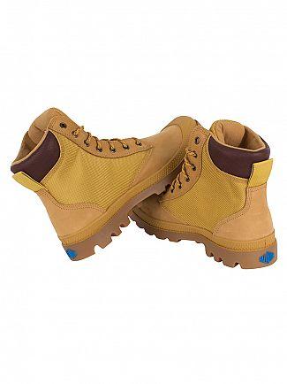 Palladium Amber Gold/Mid Gum Pampa Sport Cuff WPN Boots