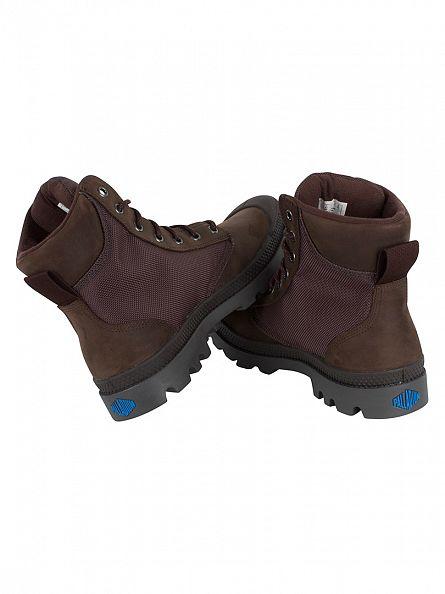 Palladium Chocolate/Forged Iron Pampa Sport Cuff WPN Boots