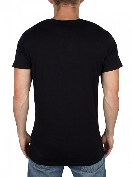 Religion Black Party Animal Graphic T-Shirt