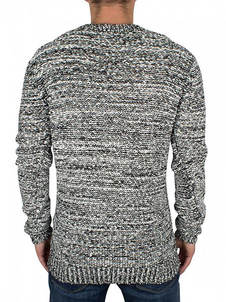 Religion White/Black Static Knit