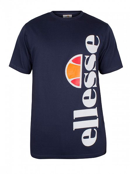 Ellesse Dress Blues Fissore Vertical Graphic T-Shirt