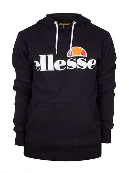 Ellesse Anthracite Toppo OH Graphic Hoodie