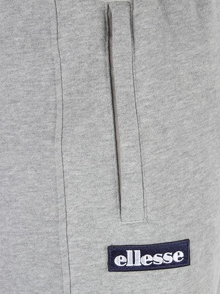 Ellesse Athletic Grey Marl Vittorio Fleece Logo Joggers