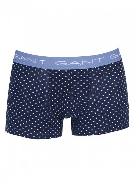 Gant Navy 2 Pack Stars Trunks