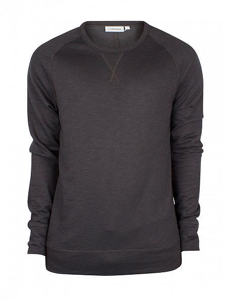 J Lindeberg Grey Immo Micro Sweatshirt