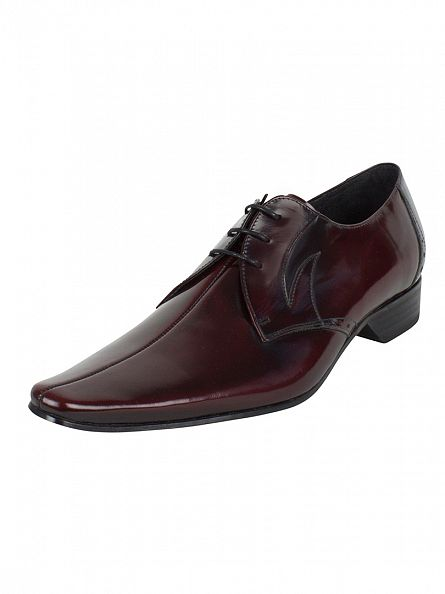 Jeffery West College Burgundy Pino Polished Shoes