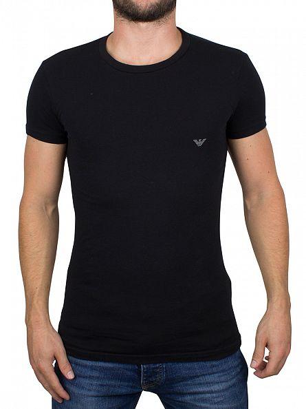 Emporio Armani Black Logo T-Shirt