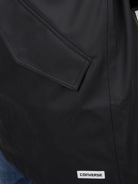 Converse Black Rubber Fishtail Rain Jacket