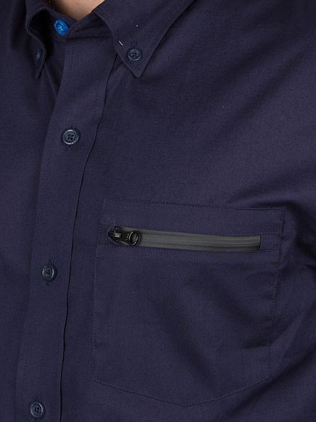 Ellesse Navy Italia Cadini Zip Pocket Shirt