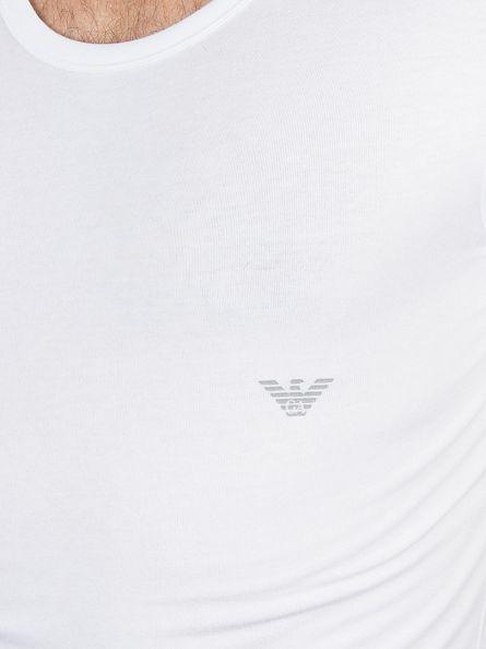 Emporio Armani White Logo T-Shirt