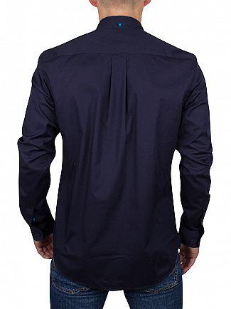 Ellesse Navy Italia Cadini Zip Pocket Shirt
