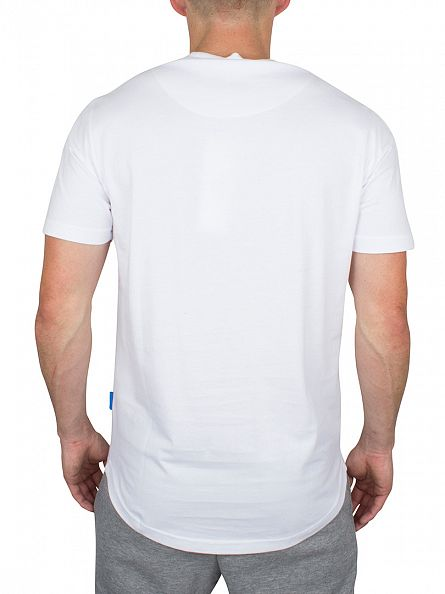 Ellesse White Italia Tyrol Graphic T-Shirt