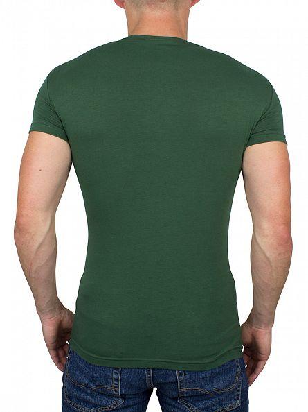 Emporio Armani Green Logo T-Shirt