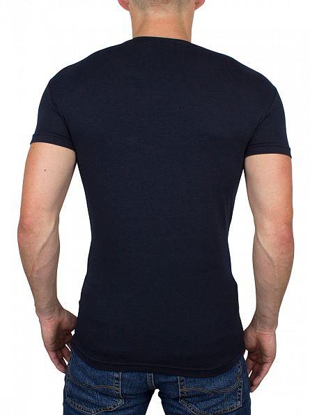 Emporio Armani Navy Logo T-Shirt
