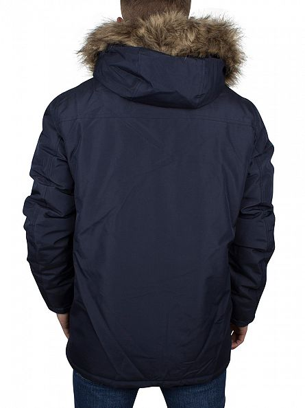 Jack & Jones Navy Blazer Hollow Parka Jacket