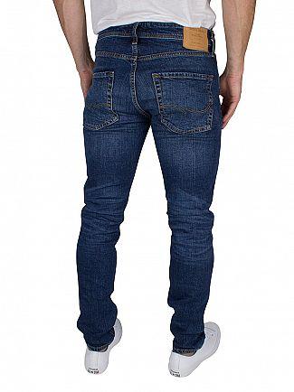 Jack & Jones Blue Denim Tim Original 012 Slim Fit Jeans