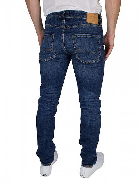 Jack & Jones Blue Denim Tim Original 012 Slim Fit Jeans