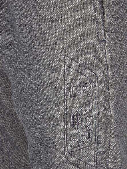 Emporio Armani Grey Embossed Logo Joggers
