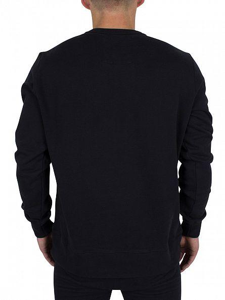 Franklin & Marshall Black Left Chest Logo Sweatshirt Tracksuit