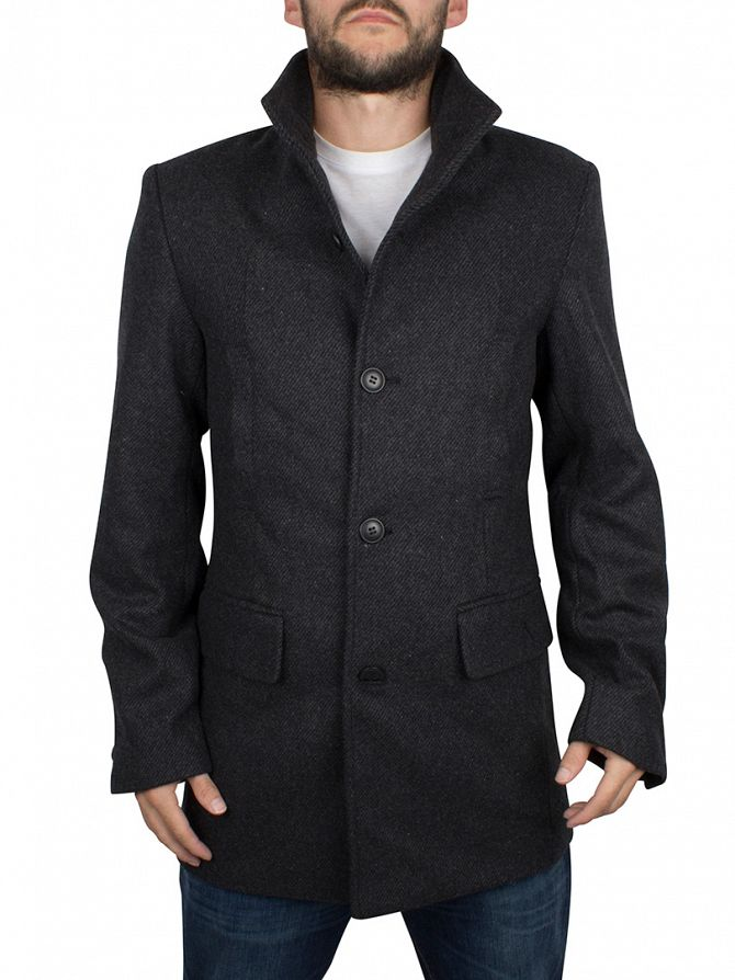 Bellfield Charcoal Vektor Blend Military Jacket