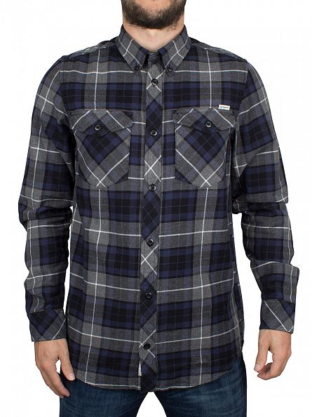 Carhartt WIP Blue Tatum Checked Shirt