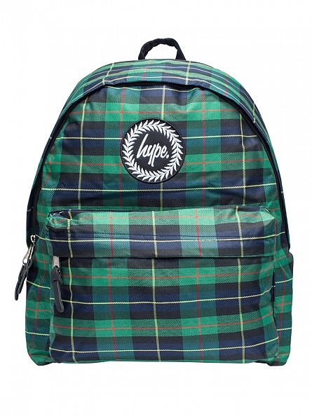 Hype Navy/Green Highland Logo Backpack