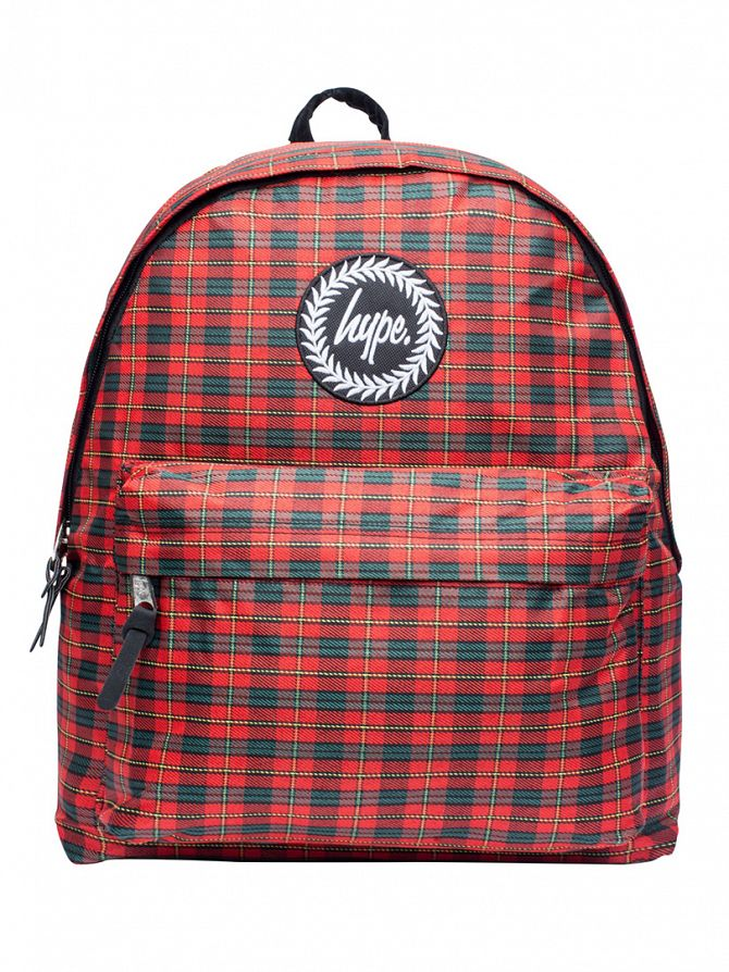 Hype Red/Green Isabella Backpack