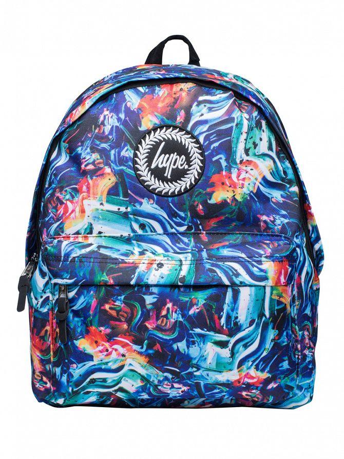 Hype Multi Light Stroke Logo Backpack