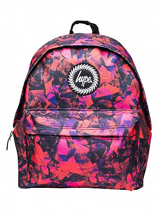 Hype Red Red Rock Logo Backpack