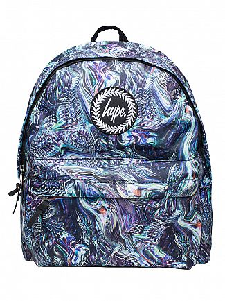 Hype Multi Waves Logo Backpack