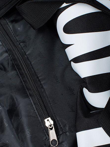 Hype Black/White Script Logo Holdall Bag