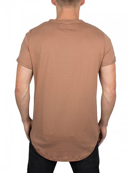 Sixth June Keny Curved Hem Logo T-Shirt