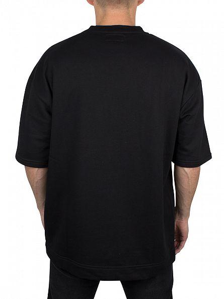 Sixth June Black Short Sleeved Sweatshirt
