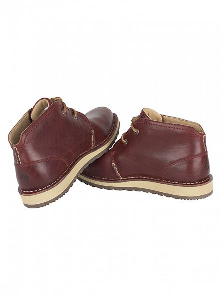 Sperry Top-Sider Burgundy Dockyard Chukka Boots