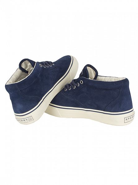 Sperry Top-Sider Navy Striper Chukka Suede Boots