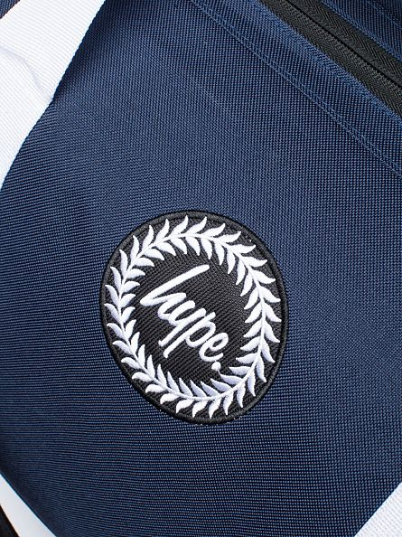 Hype Navy/White Badge Logo Holdall Bag