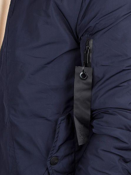 Sixth June Navy Logo Bomber Jacket