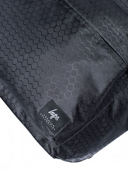 Hype Black Premium Enfield Backpack