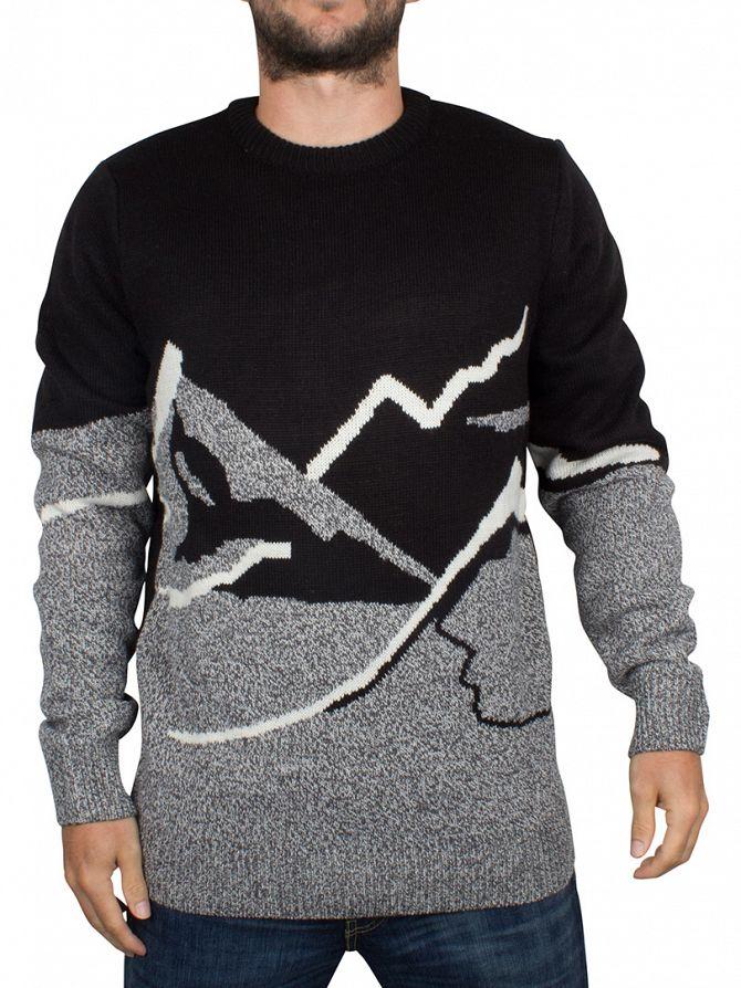 Bellfield Black Mountain Scene Knit