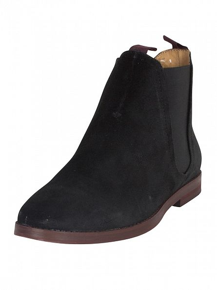 H by Hudson Black Tamper Boots