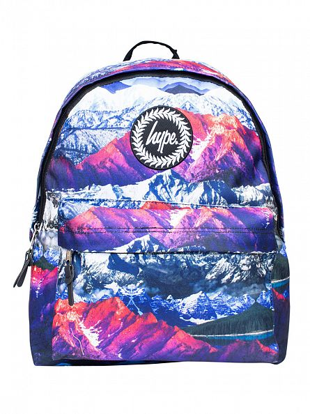 Hype Multi Mountains Logo Backpack