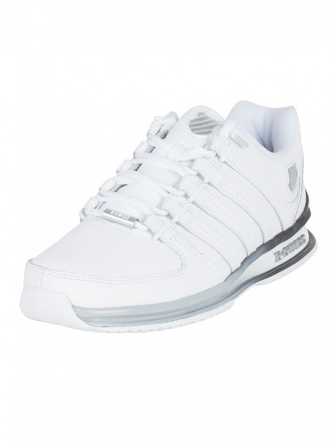 K-Swiss White/Highrise/Black Rinzler SP Fade Trainers