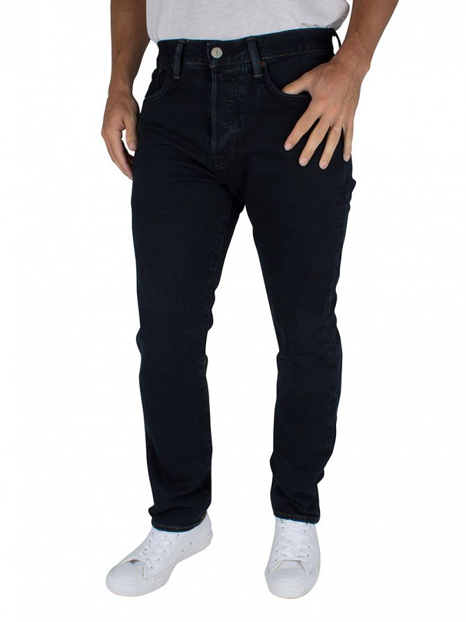 Levi's Dark Denim 501 Kobori Stretch Extensible C&T Jeans